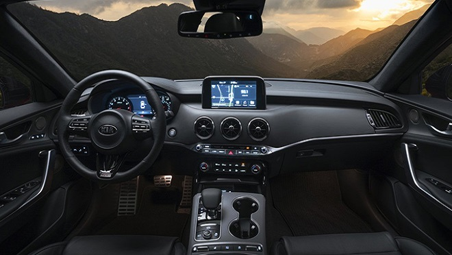 Kia Stinger interior dashboard Philippines