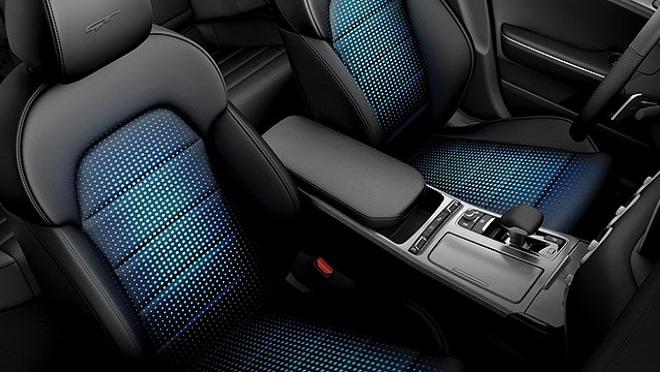 Kia Stinger interior seats Philippines