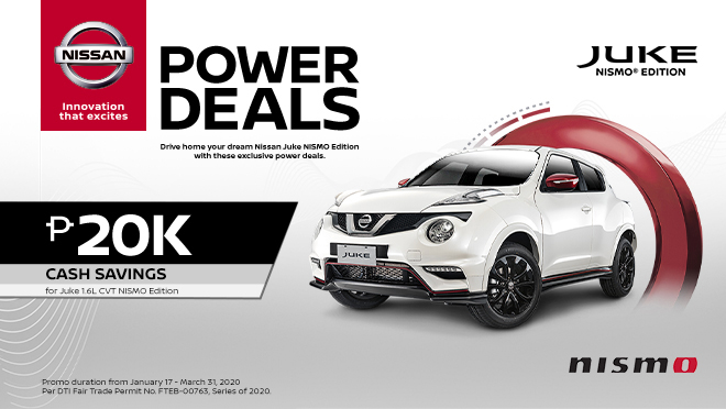 Nissan Juke NISMO exterior front Philippines