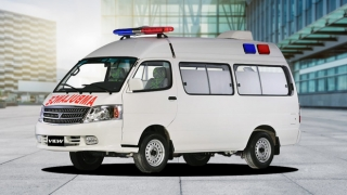 2013 Foton View Van Ambulance