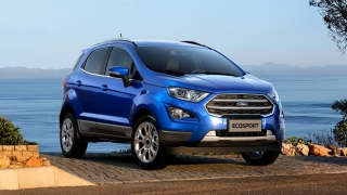 2018 Ford EcoSport blue exterior Philippines