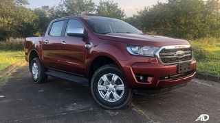 2019 Ford Ranger exterior red pickup truck Philippines