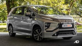 2019 Mitsubishi Xpander exterior quarter front Philippines