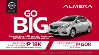 2019 Nissan Almera promos Philippines