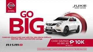 2019 Nissan Juke Philippines promo