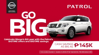 2019 Nissan Patrol promo Philippines