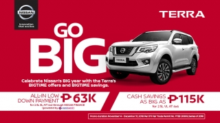 2019 Nissan Terra promo Philippines