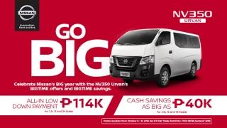 2019 Nissan Urvan Philippines promo