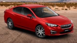 2019 Subaru Impreza red