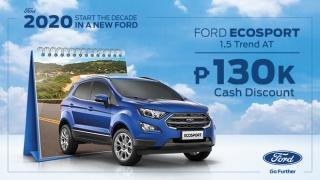 2020 Ford EcoSport exterior nlue Philippines