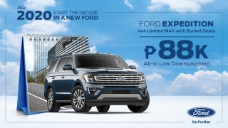 2020 Ford Expedition with Bucket Seats Philippines
