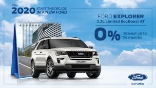 2020 Ford Explorer exterior Philippines