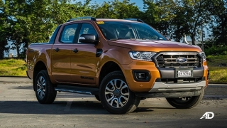 2020 Ford Ranger exterior saber Philippines
