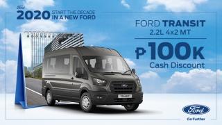 2020 Ford Transit exterior Philippines
