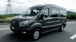 2020 Ford Transit exterior side