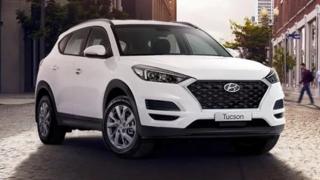 2020 Hyundai Tucson exterior front
