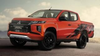 2020 Mitsubishi Strada Athlete exterior design Philippines