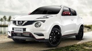 2020 Nissan Juke exterior quarter front