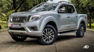 2020 Nissan Navara exterior brilliant silver Philippines