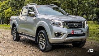 2020 Nissan Navara silver exterior quarter Philippines