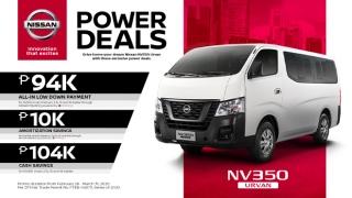 2020 Nissan Urvan exterior Philippines