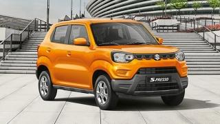 2020 Suzuki S-Presso exterior quarter front
