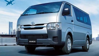 2020 Toyota Hiace exterior front