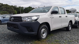 2020 Toyota Hilux exterior quarter front