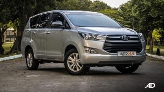 2020 Toyota Innova exterior quarter side Philippines