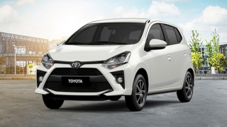 2020 Toyota Wigo white exterior Philippines