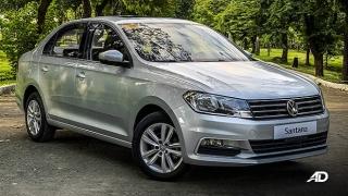 2020 Volkswagen Santana exterior quarter shot Philippines