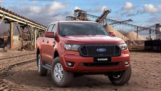 2021 Ford Ranger exterior quarter shot Philippines