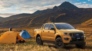 2021 Ford Ranger Wildtrak exterior quarter side Philippines