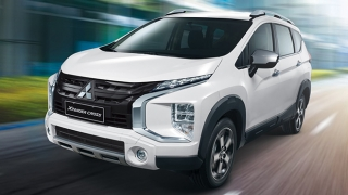 2021 Mitsubishi Xpander Cross 1.5 AT (Quartz White Pearl)