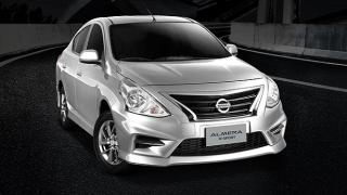 2021 Nissan Almera N-Sport exterior front quarter Philippines