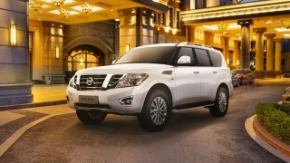2021 Nissan Patrol Royale exterior white Philippines