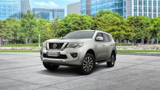 2021 Nissan Terra exterior rare side Philippines