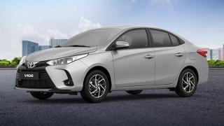 2021 Toyota Vios 1.3 XLE CVT exterior Philippines
