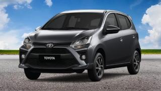 2021 Toyota Wigo 1.0 E MT exterior Philippines