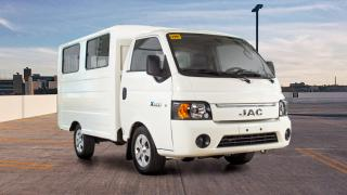 JAC X200 Cab and Chassis front
