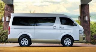 Toyota Hiace 2018 side