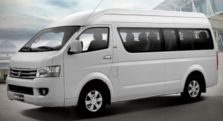 2018 Foton View Traveller 16-seater front