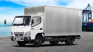 2019 Mitsubishi Fuso Canter FE71 Cab and Chassis