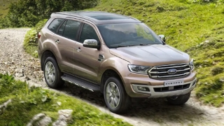 Ford Everest exterior quarter front Philippines