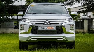 2020 Mitsubishi Montero Sport Exterior