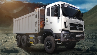 Dongfeng KC 10W Dump Truck exterior quarter front Philippines