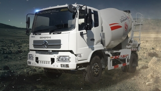 Dongfeng KR 6W Mixer (6cbm) exterior quarter front Philippines