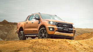 Ford Ranger Wildtrak front exterior Philippines