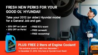 Hyundai Service Package