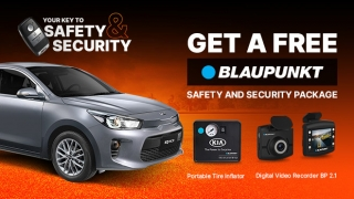 Kia Rio Hatchback with FREE Blaupunkt Safety and Security Package